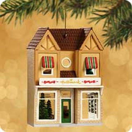 2002 Nostalgic Houses - Clara's Hallmark Shop Hallmark ornament