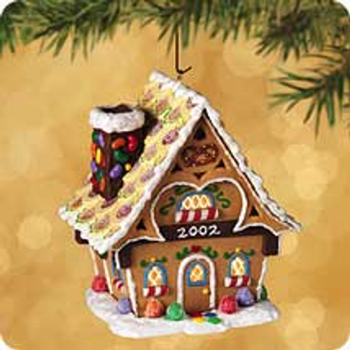 2002 Gingerbread Cottage Hallmark ornament