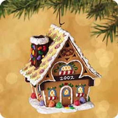2002 Gingerbread Cottage Hallmark ornament