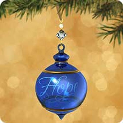 2002 BG - Hope Hallmark ornament