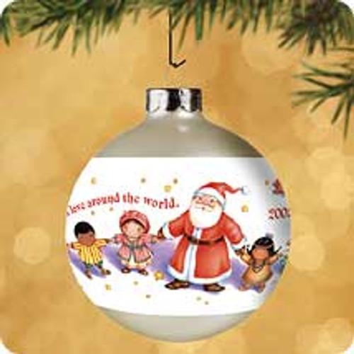 2002 Christmas Around The World Hallmark ornament