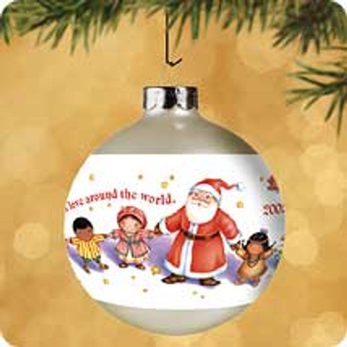 2002 Christmas Around The World Hallmark ornament