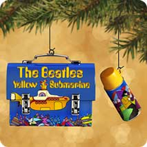 2002 Beatles Lunchbox Hallmark ornament
