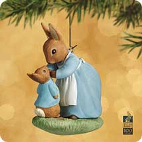 2002 Beatrix Potter - Mischief Hallmark ornament