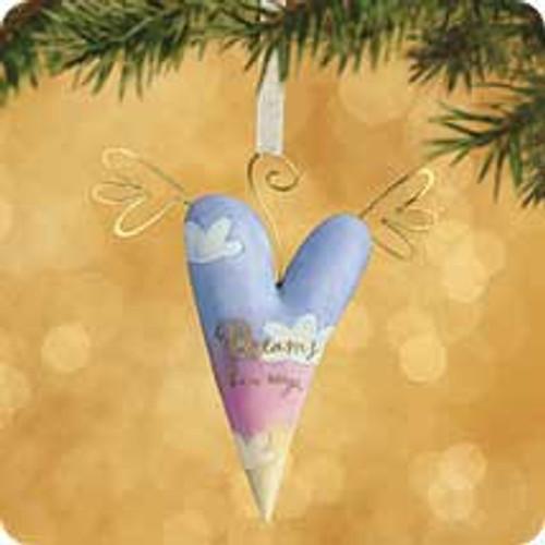 2002 Between Us - Dreams Have Wings Hallmark ornament
