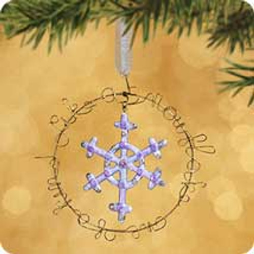 2002 Between Us - Like A Snowflake Hallmark ornament