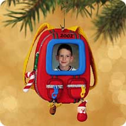 2002 Back To School - Photo Hallmark ornament