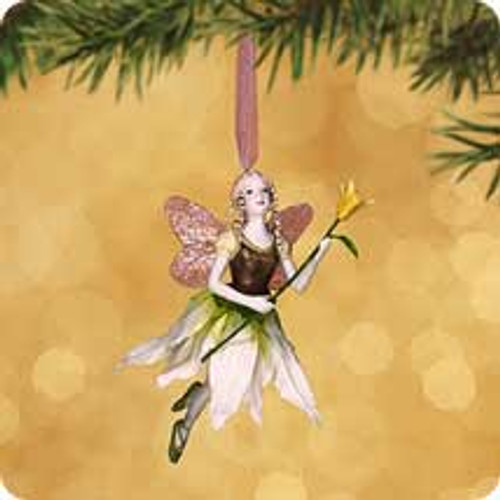 2002 Christmas Fairy Hallmark ornament