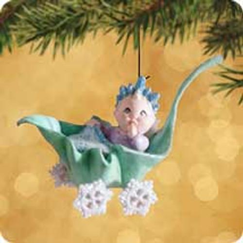 2002 Frostlight Faeries - Baby Delandra Hallmark ornament