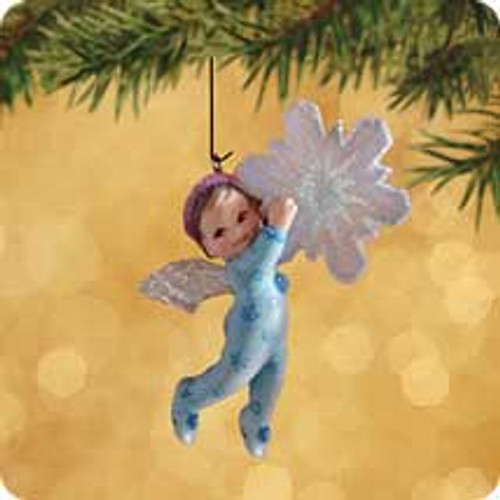 2002 Frostlight Faeries - Baby Estrella Hallmark ornament