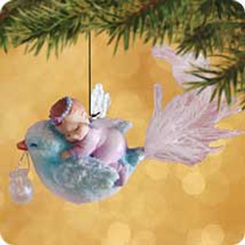 2002 Frostlight Faeries - Baby Brilliana Hallmark ornament