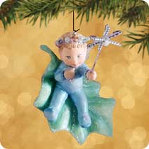2002 Frostlight Faeries - Baby Candessa Hallmark ornament
