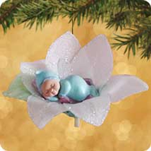 2002 Frostlight Faeries - Baby Floriella Hallmark ornament