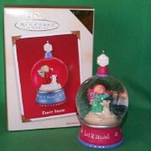 2002 First Snow - Colorway Hallmark ornament