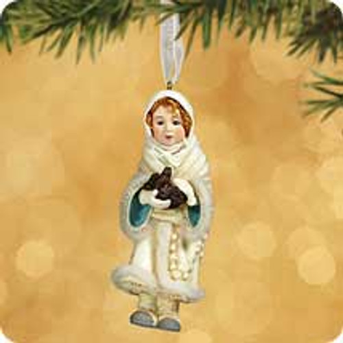 2002 Chalk - Gentle Angel Hallmark ornament