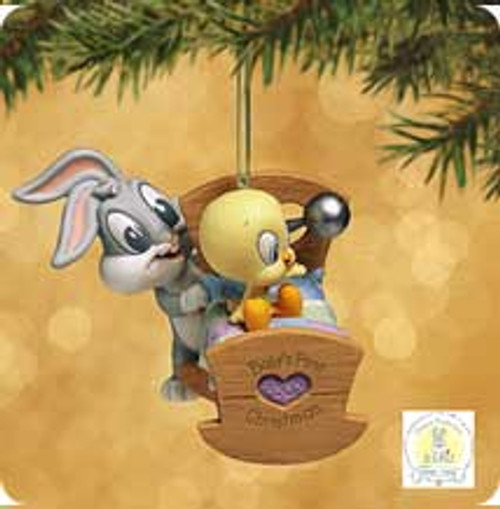 2002 Baby's 1st Christmas - Looney Tunes Hallmark ornament
