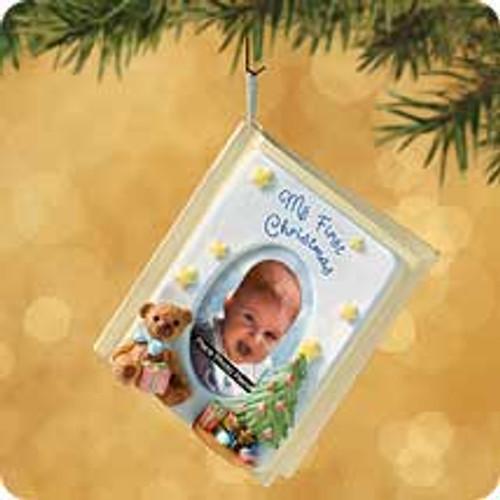 2002 Baby's 1st Christmas - Memory Book Hallmark ornament