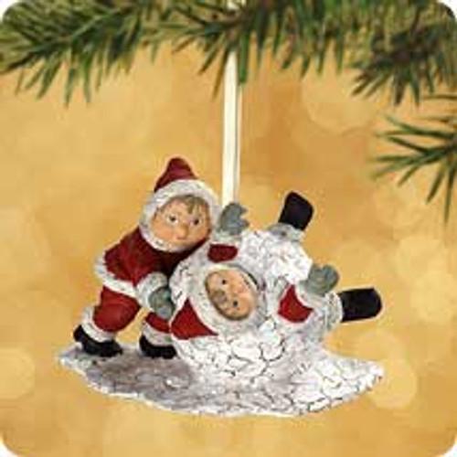 2002 Chalk - Christmas Joy Hallmark ornament