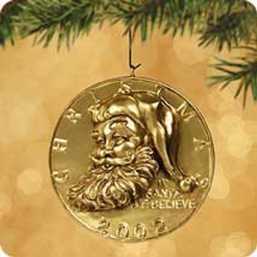 2002 Christmas Tree Gift Clip Hallmark ornament