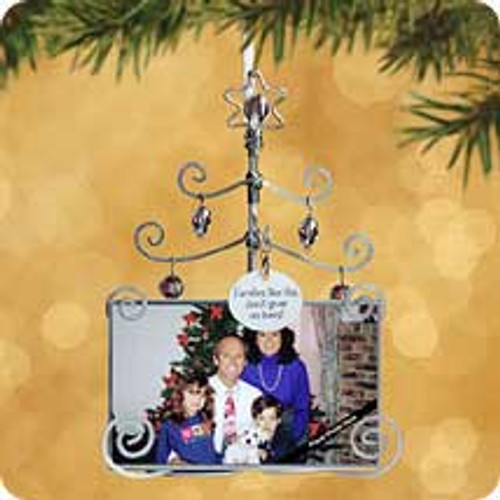 2002 Family Photo Holder Hallmark ornament