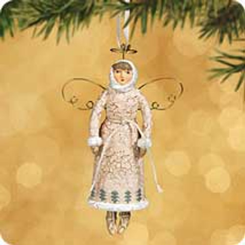 2002 Chalk - Winter Angel Hallmark ornament