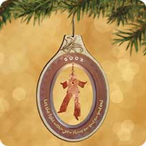 2002 The Light Within Hallmark ornament