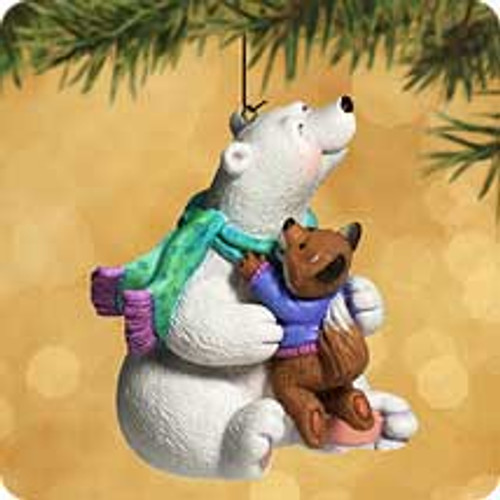 2002 Thank You Hug Hallmark ornament