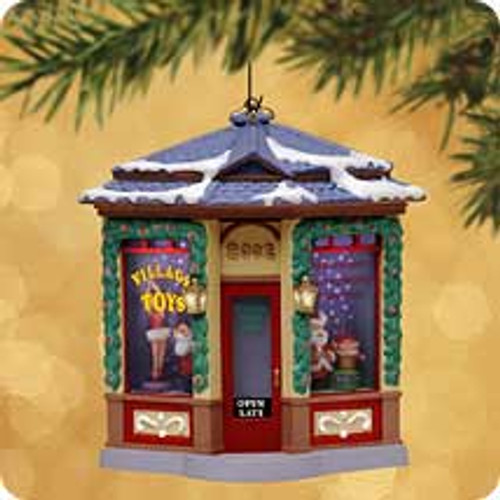 2002 Village Toy Shop Hallmark ornament