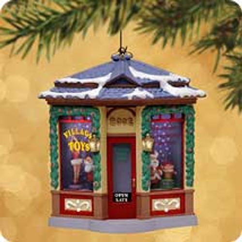 2002 Village Toy Shop Hallmark ornament