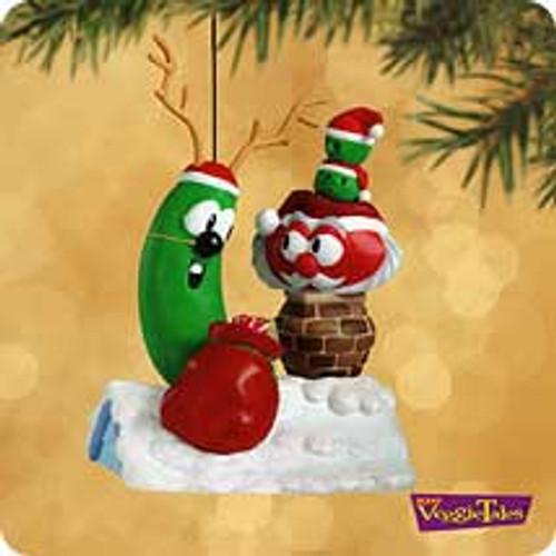 2002 Veggie Tales Hallmark ornament