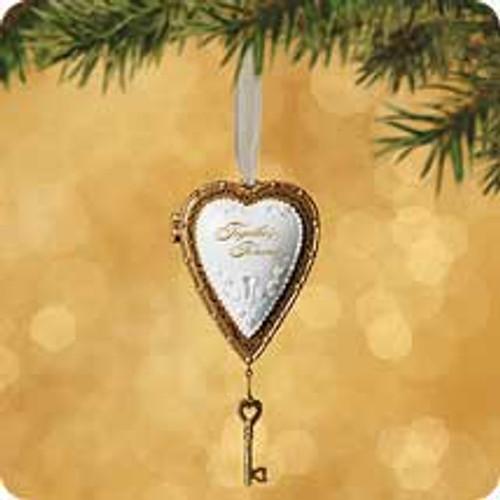 2002 True Love - Locket Hallmark ornament