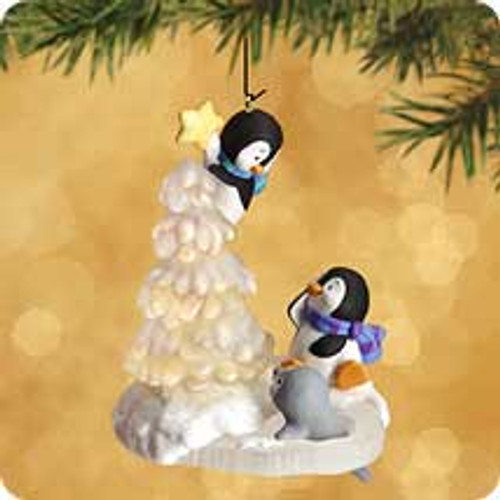 2002 Topping The Tree Hallmark ornament