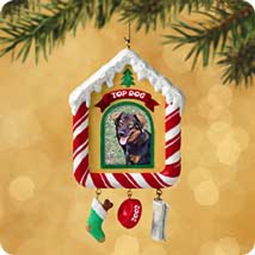 2002 Special Dog Hallmark ornament