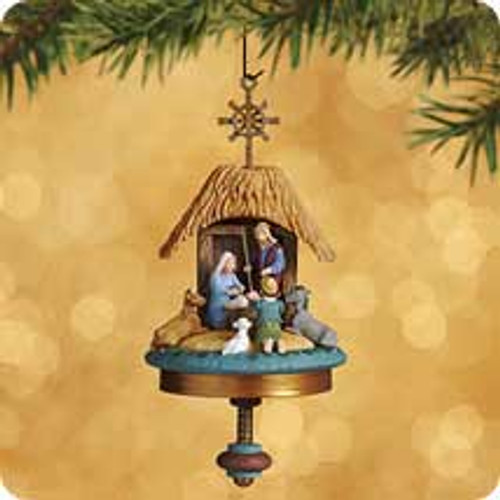 2002 A Song For The Lamb Hallmark ornament