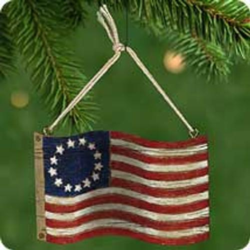 2001 America For Me Hallmark ornament