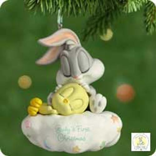 2001 Baby's 1st Christmas - Bugs Bunny Hallmark ornament