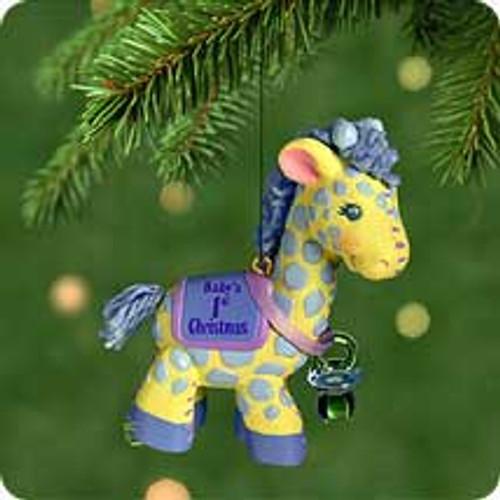 2001 Baby's 1st Christmas - Boy Hallmark ornament