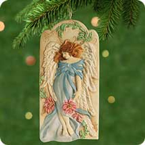 2001 Angel's Whisper Hallmark ornament