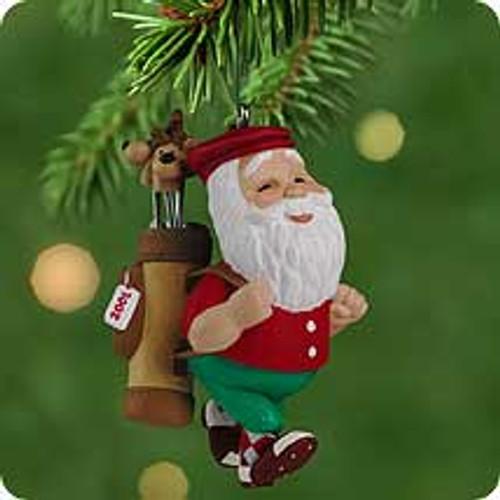 2001 Santa's Day Off Hallmark ornament