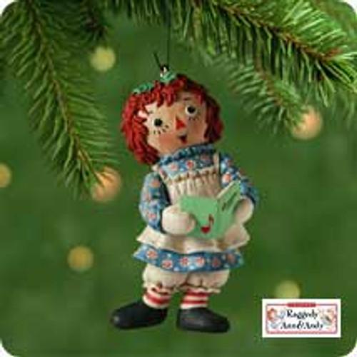 2001 Raggedy Ann Hallmark ornament