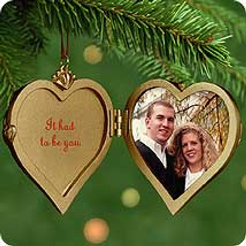 2001 It Had To Be You Hallmark ornament