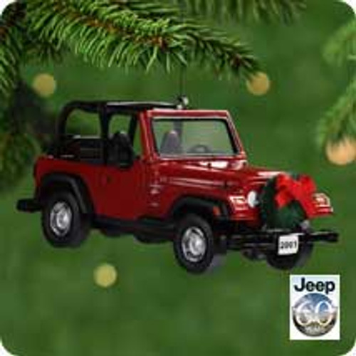 2001 Jeep - Wrangler Hallmark ornament