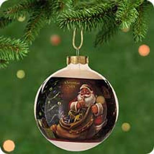 2001 Jolly Visitor - Ball Hallmark ornament