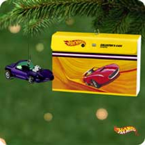 2001 Hot Wheels Hallmark ornament