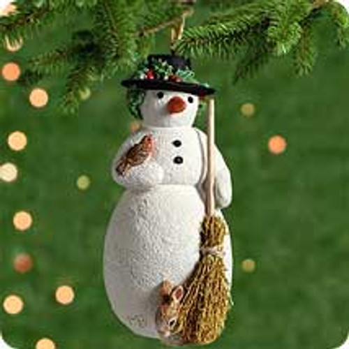 2001 My First Snowman Hallmark ornament
