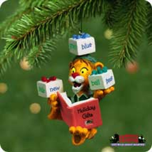 2001 Lionel Plays With Words Hallmark ornament
