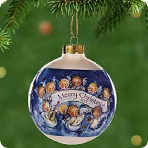 2001 Mary Hamilton Angel Chorus Hallmark ornament