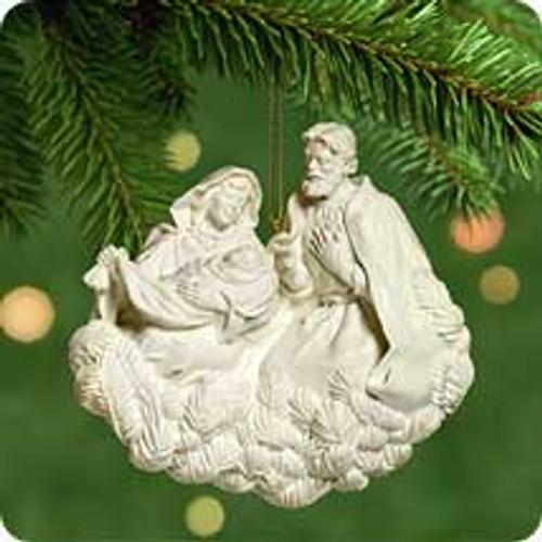 2001 Mary and Joseph Hallmark ornament