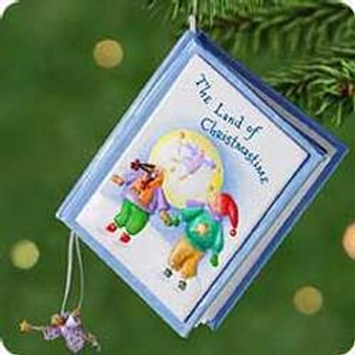 2001 Land Of Christmastime Hallmark ornament
