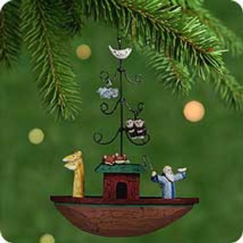 2001 Noah's Ark Hallmark ornament